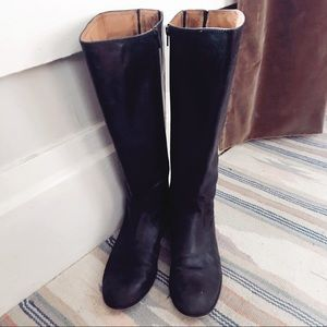 KENNETH COLE NY LEATHER RIDING BOOTS 9.5